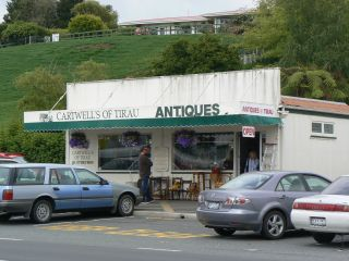 Antique shop, Tirau