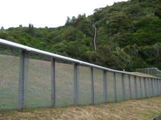 Pest free fences, Karori Sanctuary