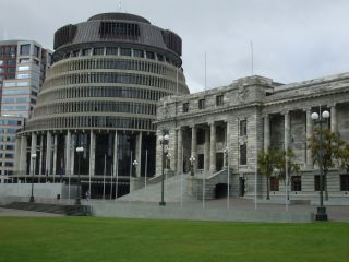 Beehive, Wellington, NZ