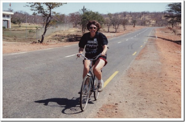 Biking in Zimbabwe