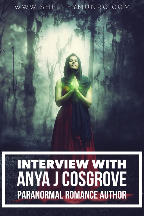 Interview Anya J Cosgrove