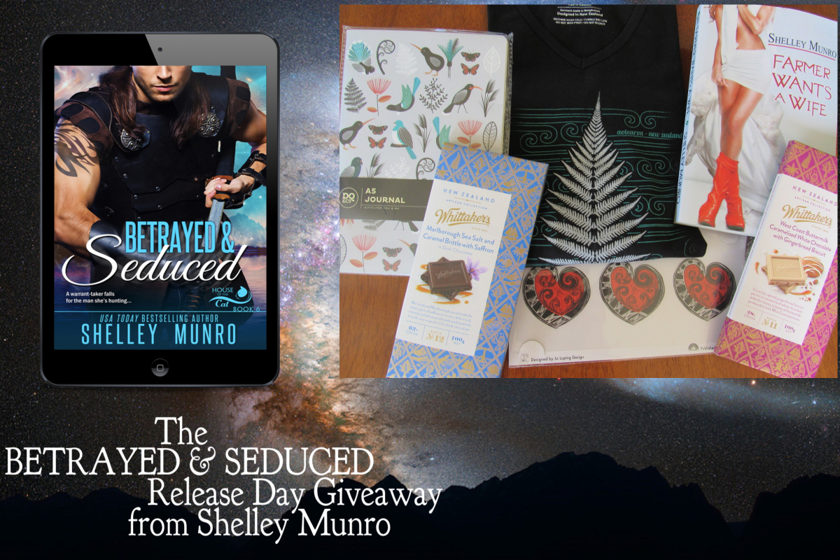 Betrayed & Seduced Release Day Giveaway