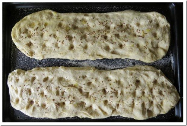 Bread before baking