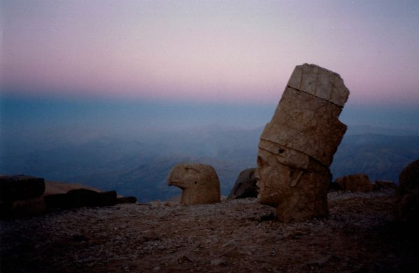 Sunrise at Nemrut Dagi