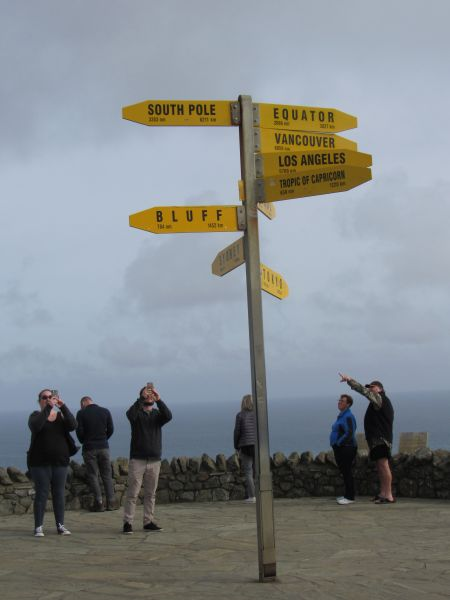 Sign Post at Cape Reinga