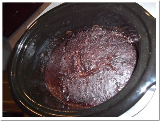 Choc Pudding in Slow Cooker