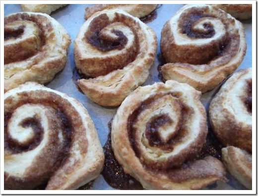 Cooked Cinnamon Scrolls