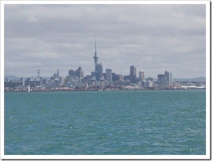 Central Auckland Cityscape
