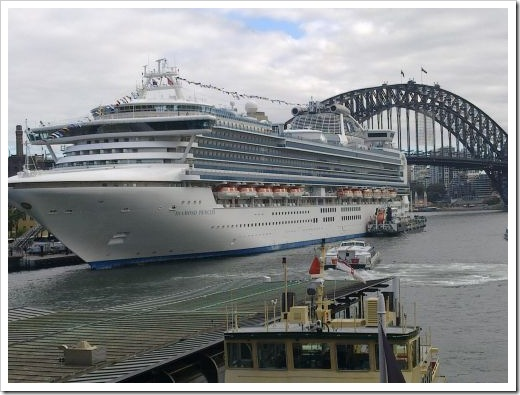 Diamond Princess, Sydney