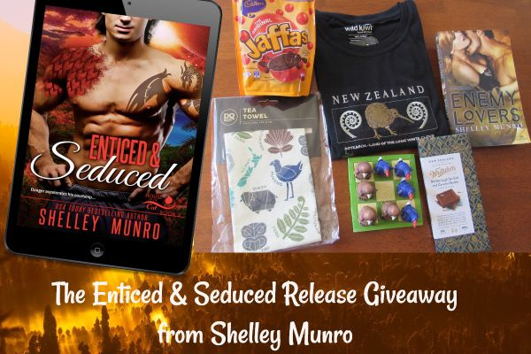 Enticed & Seduced Release Giveaway