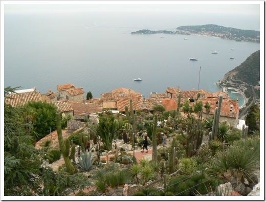 Eze_view from succulent gardens