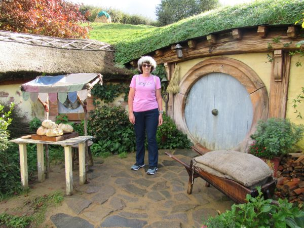 Shelley and the Hobbit Hole