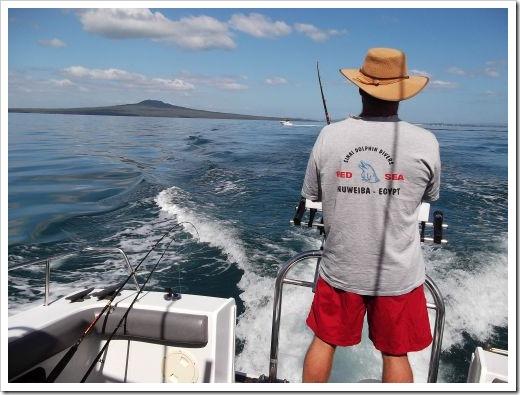 Hubby Fishing