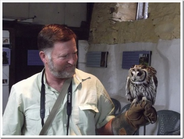 Hubby and Owl
