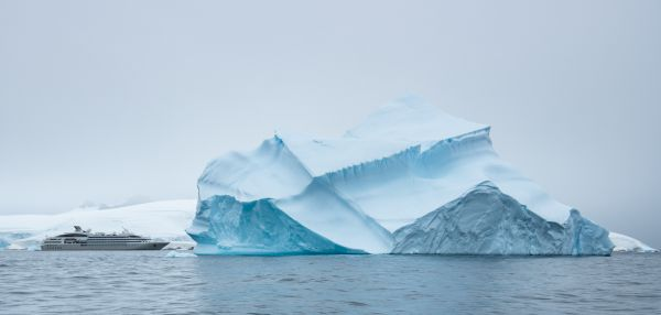 Our Ship and Iceberg