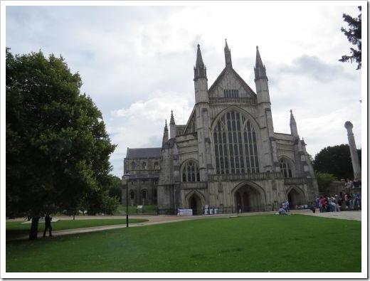 Jane Austen_Winchester Cathedral