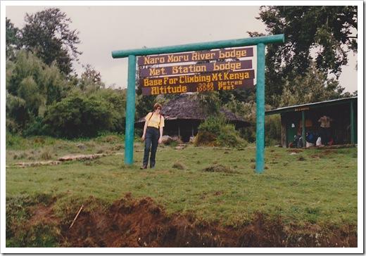 Mt. Kenya Base Camp