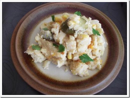 Polenta Vegetable Hotpot