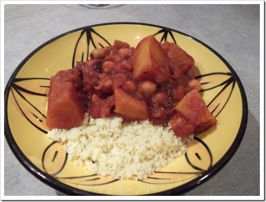 Pumpkin and Cranberry Tagine