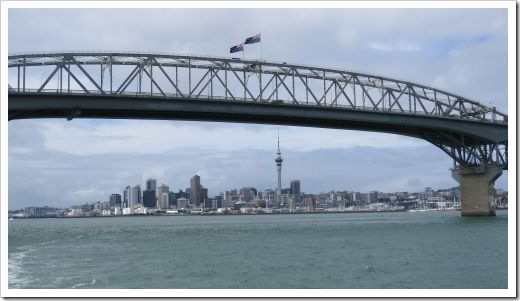 Harbor Bridge and City