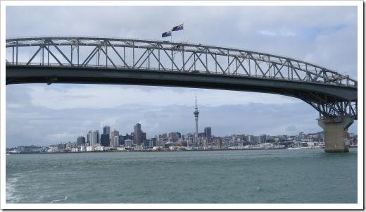 Harbor Bridge and City