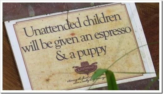 Riverhead Children Sign