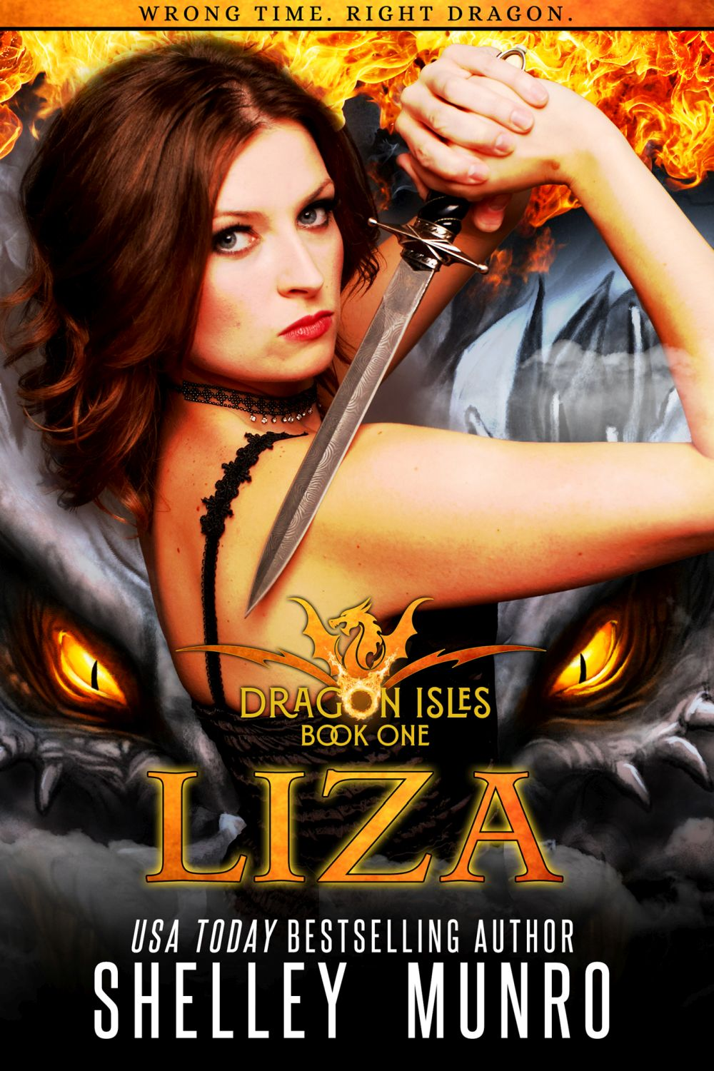 Dragon Isles: Liza by Shelley Munro