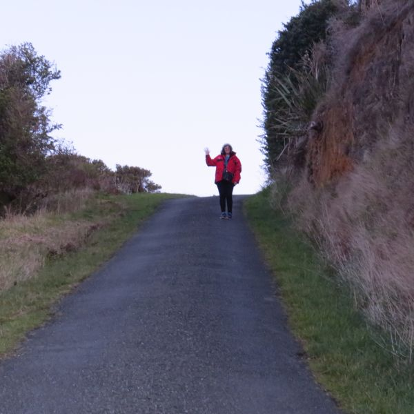 The steep hill