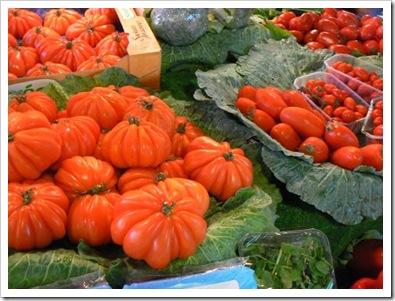 Tomatoes, Barcelona market