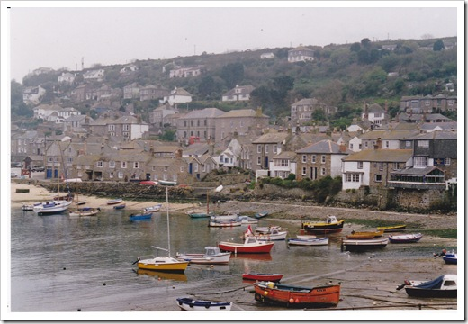 UK - Cornwall, Mousehole