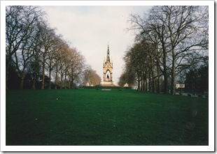 Albert Memorial, Kensington near Royal Albert Hall