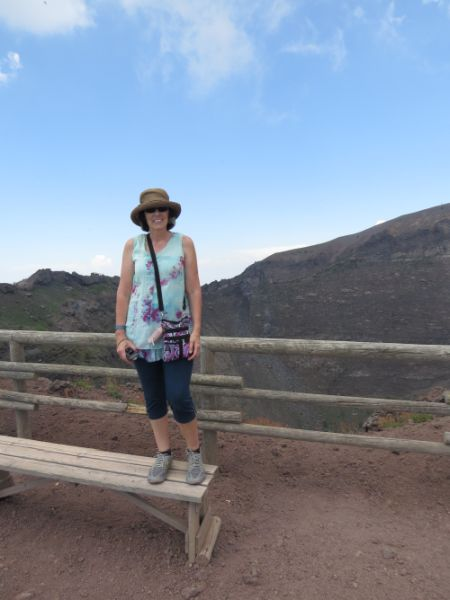 Me at the top of the mountain