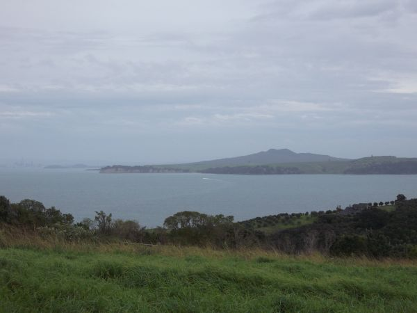 View from Waiheke looking back to Auckland