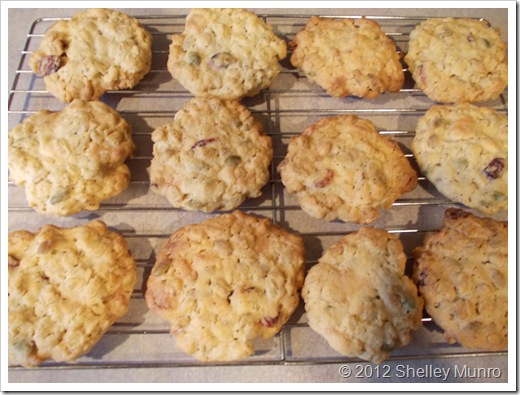 Chunky Oat Cookies