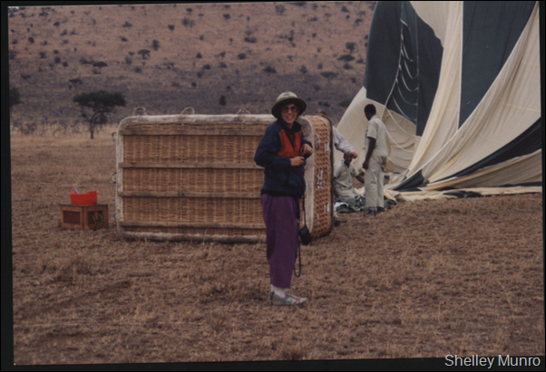 sw Ballooning in the Serengeti
